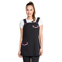 Tablier Jumper dress noir et rose