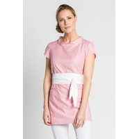 Blouse esthéticienne rose stretch, Oriental Look