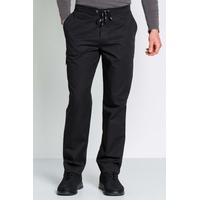 Pantalon de service noir pour homme