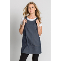 Blouse de service sans manche Femme coloris Bleu Jean