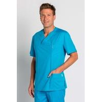 Blouse médicale Bleue Turquoise stretch Homme