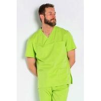 Blouse médicale stretch Vert Pistache Homme