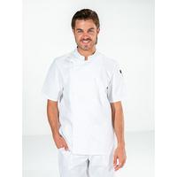 Veste de cuisine blanche mixte manches courtes COOKIE