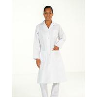 Blouse blanche 100% coton Femme manches longues MADONA