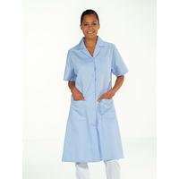 Blouse médicale femme manches courtes Bleu ciel MADONA