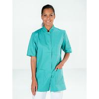 Tunique femme chirurgie vert aqua manches courtes DENISE