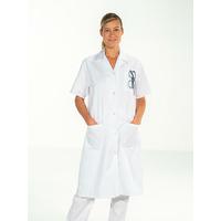 Blouse médicale Femme manches courtes Blanc MADONA