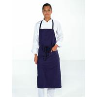 Tablier de cuisine avec poche VALET bleu marine