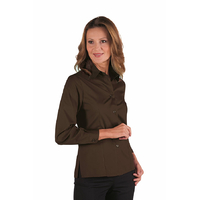 Chemise Femme Manches Longues Kyoto Cacao