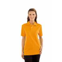 Polo Femme manches courtes Abricot