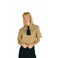 Chemise Unisexe Manches Courtes Biscuit