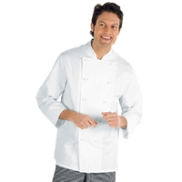 Veste Chef Cuisinier XXXL Livorno Blanc 100% Coton
