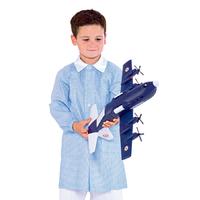 Blouse d'écolier bleue ciel pour Enfant