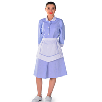Blouse Femme de chambre bleu ciel Carlton