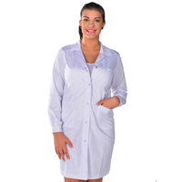 Blouse blanche de chimie anti-acide