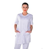 Blouse coupe tunique médicale blanche Clinic Look