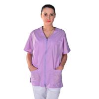 Tunique médicale mauve unisexe Clinic look
