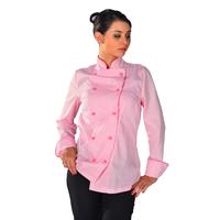 Veste de cuisine Femme Pink lady