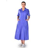 Blouse bleu manches courtes Darina