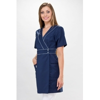 Blouse médicale bleu marine Wera Couture