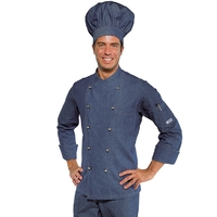 Veste de cuisine en Jeans pour Homme