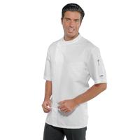Veste de cuisine tissu Superdry traité anti taches