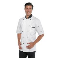 Veste de Chef cuisinier à manches courtes