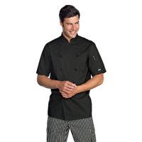 Veste noire chef de cuisine