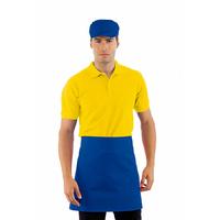 Tablier de cuisine Taille Cm 70x46 avec Poches Bleu Cyan