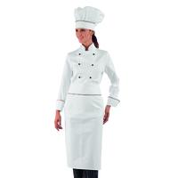 Veste de cuisine Femme italie 100% Coton