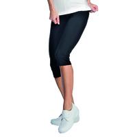 Leggings 3/4 Femme Noir