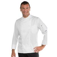 Veste de cuisine Stretch couleur blanche