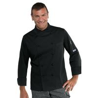 Veste de cuisine Stretch couleur noire