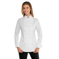 Veste blanche de cuisine Lady Chef Stretch