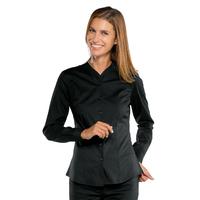 Chemise noire pour Femme Stretch Confort