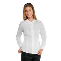 Chemise blanche de service pour Femme Stretch Confort