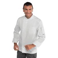 Veste de cuisine pas cher tissu extra léger Bilbao