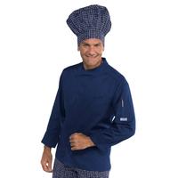 Veste de cuisine bleue Bilbao