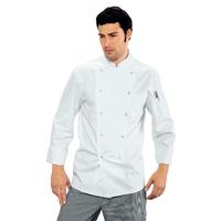 Veste de cuisine pas cher a boutons pression
