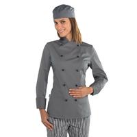 Veste cuisine Lady Chef grise