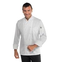 Veste cuisine coupe slim  pour Homme 100% coton sans repassage