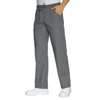 Pantalon de travail gris mixte