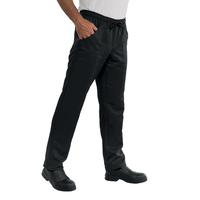 Pantalon de cuisine à ceinture élastique et tissu microfibre Superdry