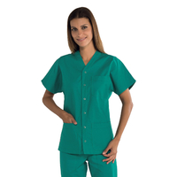 Tunique médicale Unisex 100% coton Cancun verte