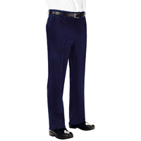 Pantalon Homme 100% Laine Bleu