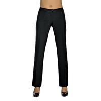 Pantalon Femme Noir Coupe Droite