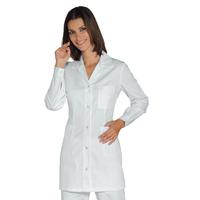 Tunique Femme Manches longues Marbella Blanc 100% Coton