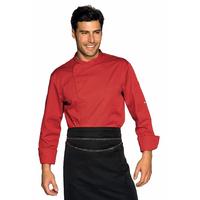Veste Chef Cuisinier Bilbao Rouge