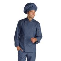 Veste Chef Cuisinier Boutons à Pression Jeans
