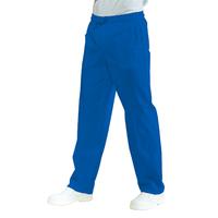 Pantalon Médical Mixte à Taille Elastique Bleu Cyan